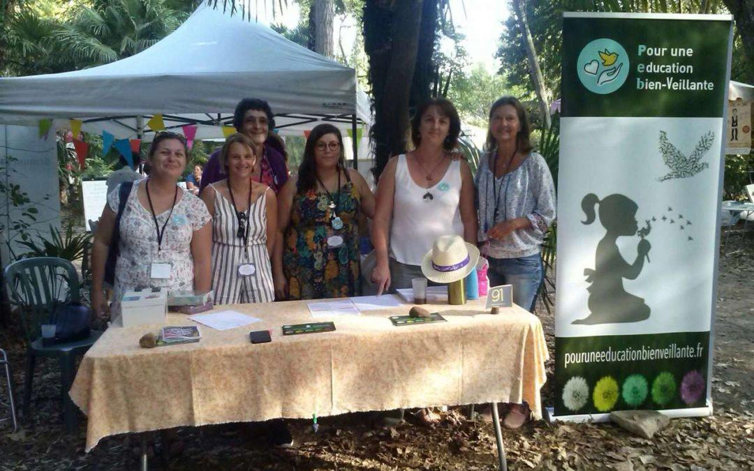 Participation au Festival pour l'école de la Vie à Montpellier