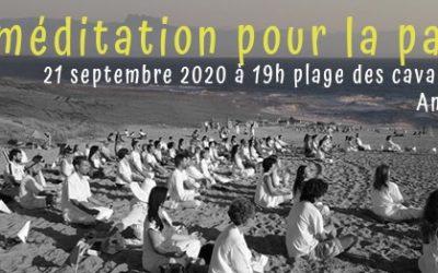 Méditation pour la Paix du lundi 21 septembre 2020 – maintenue :)